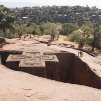 Lalibela, Ethiopia's inside-out rock churches: very special, but expensive